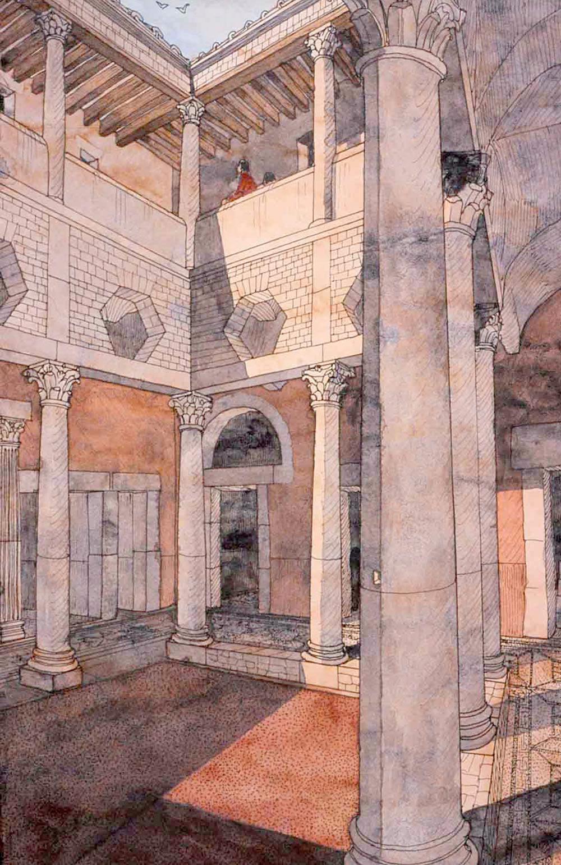 afrique tunisie bulla regia maison de la chasse jean claude golvin. Black Bedroom Furniture Sets. Home Design Ideas