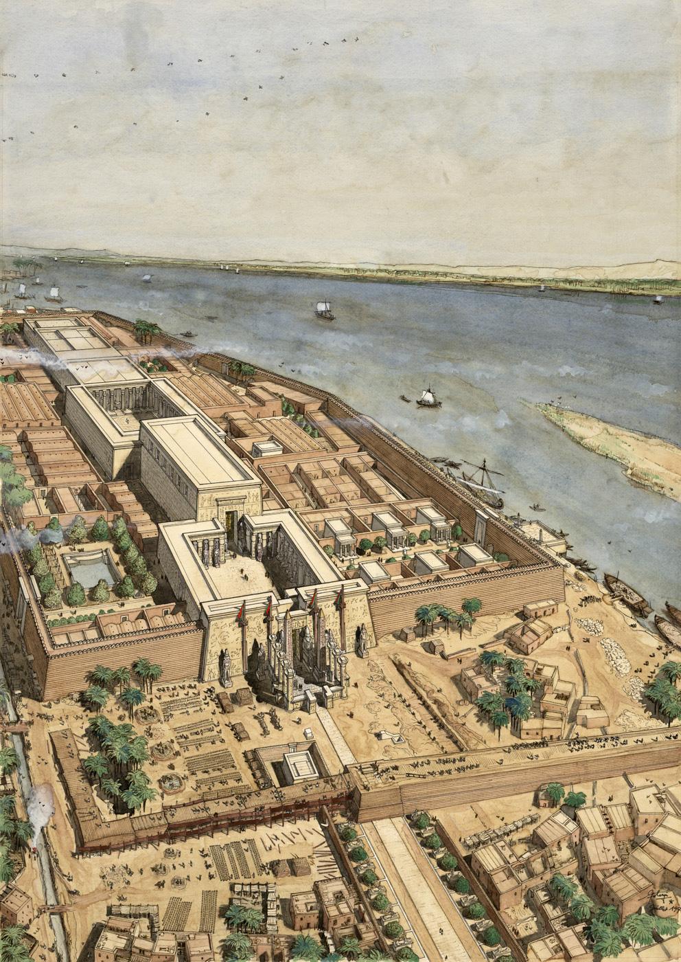 Luxor Jean Claude Golvin