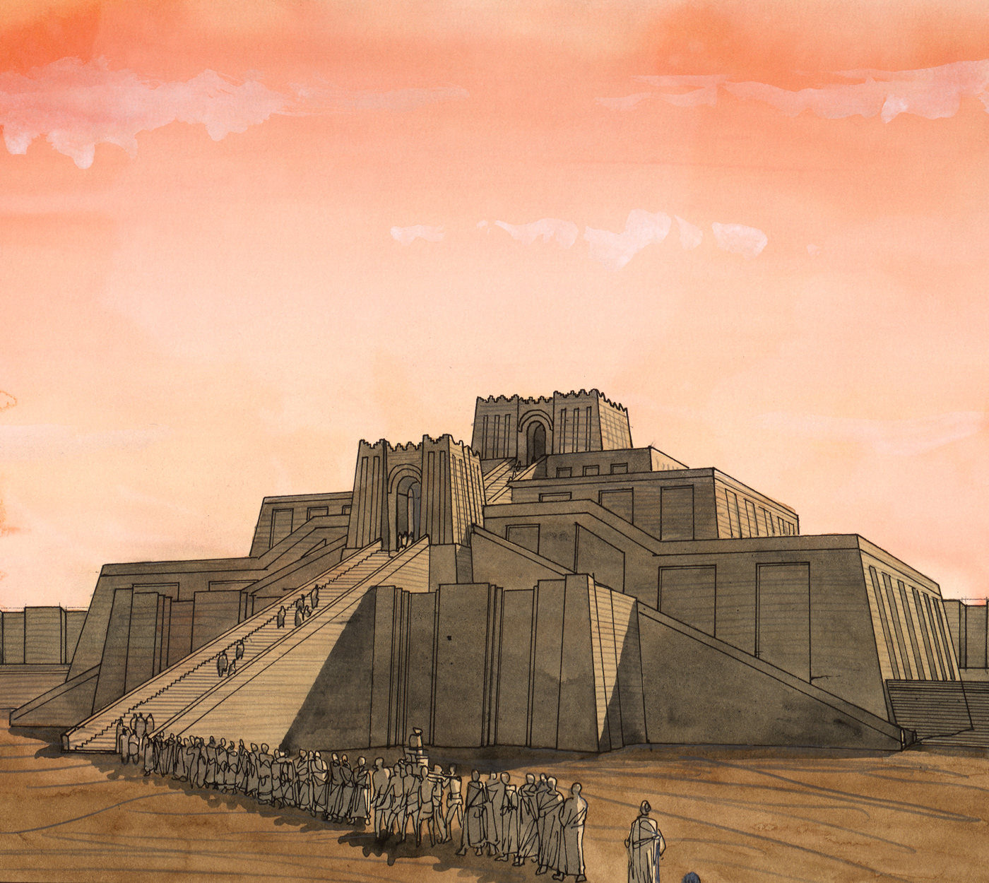 Ziggurat or why people are talking different languages