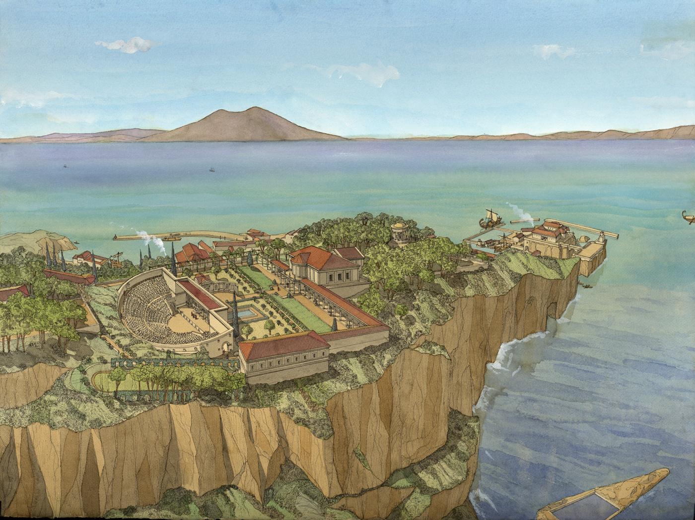 Naples To Capri >> Pausilippe - Jean-Claude Golvin