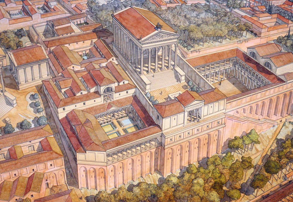 accomplishments of ancient rome History of roman art origins although rome was founded as far back as 750 bce, it led a precarious existence for several centuries.