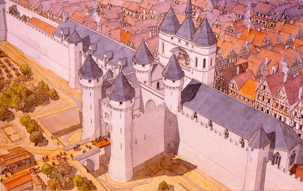 учится франция в средневековье картинки стыковке фурнитуры
